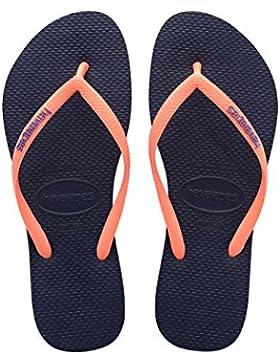 Havaianas Slim Logo, Sandalias Para Niñas