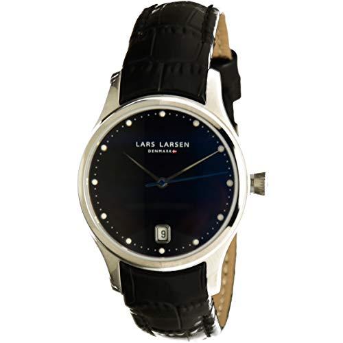Lars Larsen montre pour femme avec bracelet en cuir–139SBLBL