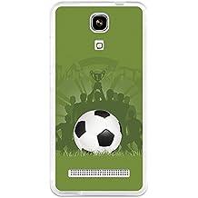 BeCool - Funda Gel Flexible Zopo Color E ZP350 La Victoria del Fútbol Carcasa Case Silicona TPU Suave