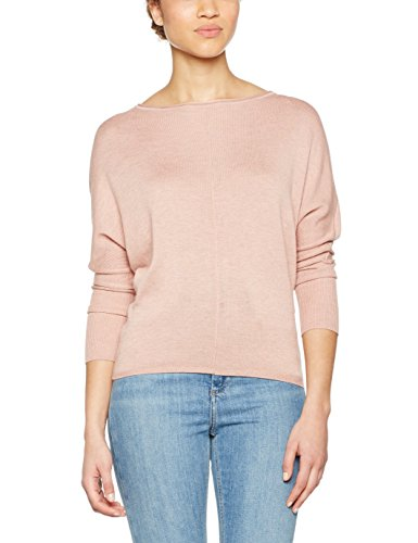 Only Onlcosy L/S Boatneck Pullover Knt, Pull Femme Rose (Rose Dawn)
