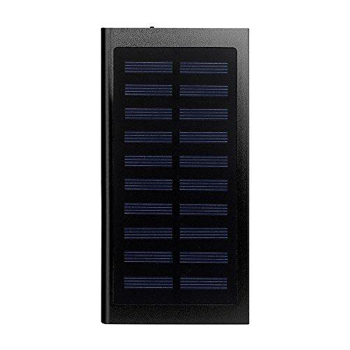 OYSOHE Banco Externo portátil Ultrafino del Poder del Cargador de batería 20000mAh Linterna incorporada para el teléfono Celular iPhone, iPod, iPad,Galaxy y Dispositivos Android (Negro)