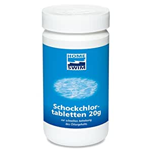 Home swim 2931504 schockchlortabletten 1 kg for Garten pool chlortabletten