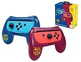 Pack de 2 poignées de confort ergonomiques pour manette Joy Con Nintendo Switch - Droit/Gauche - FCB FC Barcelone