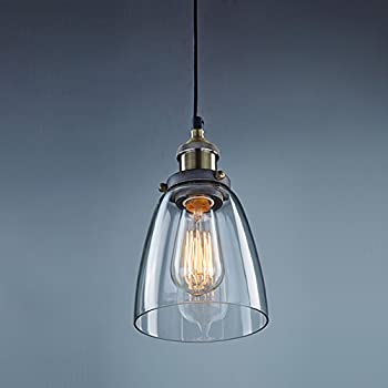 glass pendant lighting. claxy vintage industrial ceiling glass pendant light lighting t