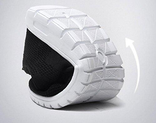 Hommes Escalade Chaussures Anti-dérapant Air Tech Choc Absorbant Fitness Gym Sport Randonnée Chaussures Chaussures De Course En Plein Air Basse Trekking Voyage Noir