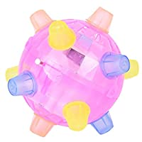 Caerling Colorful Led Lights Dancing Ball Puzzle Toys Jump Activate Ball Educational Toy Colorful LED Light Dancing Ball Kid