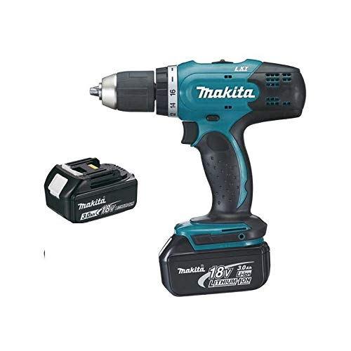 Perceuse visseuse MAKITA 18V 3.0Ah + 2 Batteries, chargeur, en...