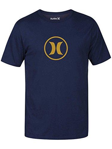 Herren T-Shirt Hurley Circle Icon Dri T-Shirt Obsidian