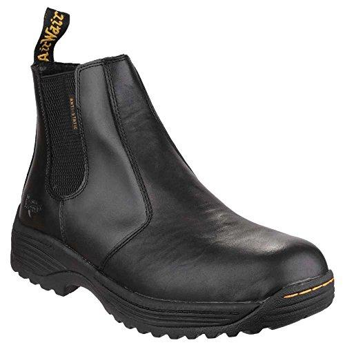 Dr Martens Mens Cottam Leather Work Safety Dealer Boots Black