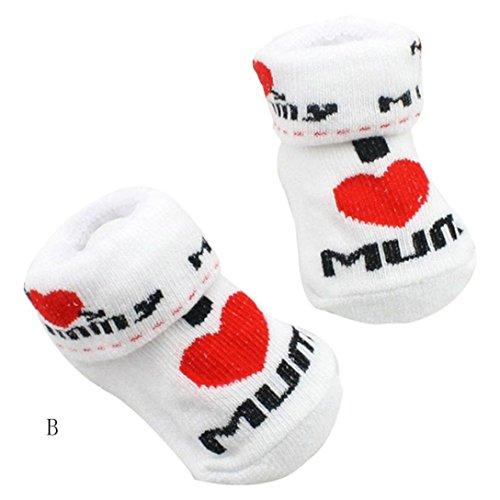 Baby Socken Transer® Unisex Kleinkind Neugeborene Kinder Spandex+Baumwolle