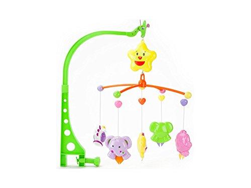 Parteet Sweet Cuddle Cot Cradle Musical Rattle 6 Pc Set For Infants Toddler New Born