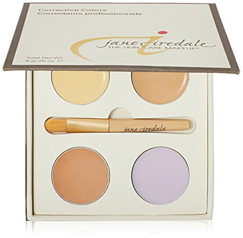 Jane Iredale - Corrective Colours Kit (4X Concealer 2G + Application Spatula) 8G/0.28Oz - Maquillage