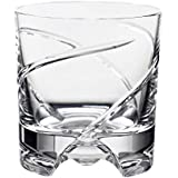 "Verre de whisky, collection ""ROULETTE NO. 3"", cristal transparent, 10 cm (GERMAN CRYSTAL powered by CRISTALICA)"