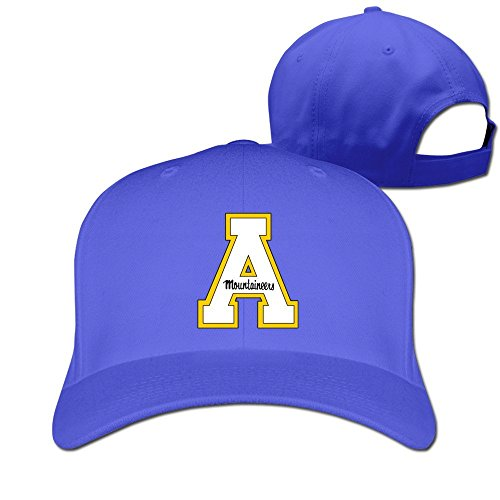 XCarmen Okpk Appalachian State Mountaineers Logo Unisex Hat Adjustable Baseball Cap Royalblue