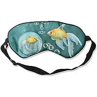 Comfortable Sleep Eyes Masks Bubbles Goldfish Pattern Sleeping Mask For Travelling, Night Noon Nap, Mediation... preisvergleich bei billige-tabletten.eu