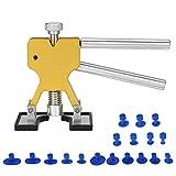 DEDC Dellen Reparatur Ausbeulwerkzeug Lackfreies Dent Puller Set, Dellen Reparaturset, Auto...