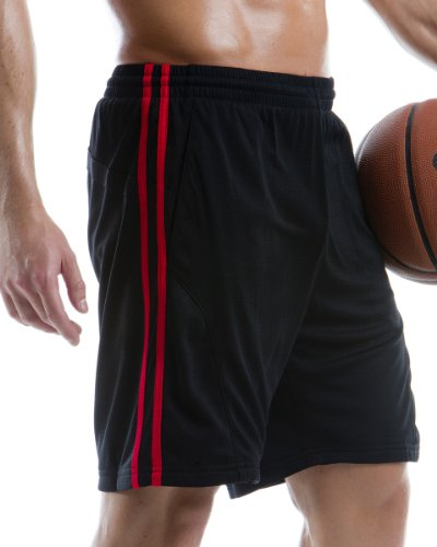 Gamegear Cooltex KK981-Pantaloncini sportivi Nero/Bianco