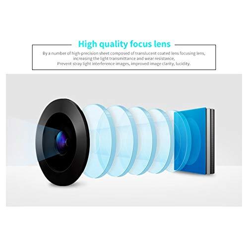Projecteur vidéo portable Full HD 1080p Home Cinéma Beamer Proyector pas cher avec HDMI AV SD VGA (Color : Silver)