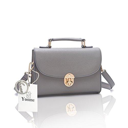 Borsa a tracolla trasversale a forma di borsa a tracolla elegante Yoome per borsa a tracolla in borsa da borsetta - Esercito Grigio