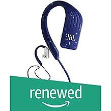 (Renewed) JBL Endurance Sprint Waterproof Wireless in-Ear Sport Headphones with Touch Controls (Blue)