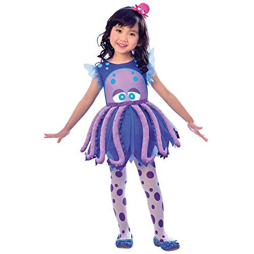 Oktopus Kostüm - Oktopus - Kraken Kostüm Kinder Mädchen Amscan
