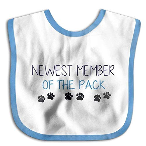 newest-member-of-the-pack-funny-absorbent-cotton-baby-soft-toddler-bib