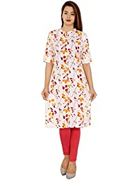 Stitch N Style Women's Cotton Regular Kurta