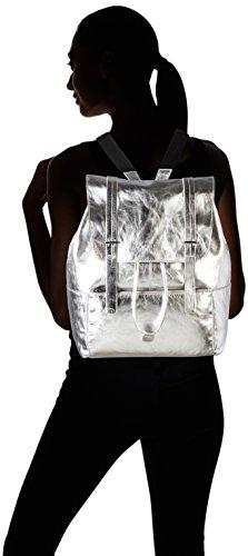 BREE Brigitte 24 S17, Sac à main à bretelles pour port en sac à dos Silber (silver Metallic)
