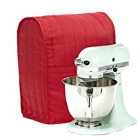 ELECTROPRIME Red 1pc Kitchen Stand Mixer Cover Organizer Dust Protective Storage Bag L