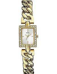 Guess Damen-Armbanduhr Analog Quarz Edelstahl beschichtet W0540L2