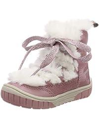 Geox B Omar Girl A, Botas Bebé-para Niñas
