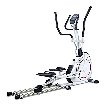 8 Pre-Programmed Workouts Skylon 1.1 Foldable Elliptical Cross Trainer With Pulse Controlled Training and Integrated Pulse Receiver