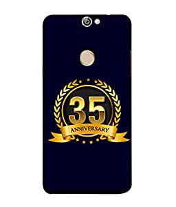 PrintVisa Designer Back Case Cover for Coolpad Max A8 (Life Love Occasions Aniversary Vision Celebrations)