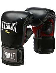 Everlast 7502SM - Guantes de boxeo para combate, color negro, talla DE: lxl