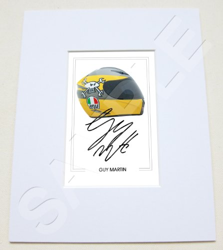 eb20c644f75 MOUNTED GUY MARTIN SIGNED 10X8 INCH MOUNT WITH PRINTED AUTOGRAPH PHOTO PRINT  PHOTOGRAPH AUTOGRAPHED POSTER JERSEY