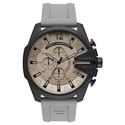 Diesel Reloj Analógico para Hombre de Cuarzo con Correa en Silicona DZ4496