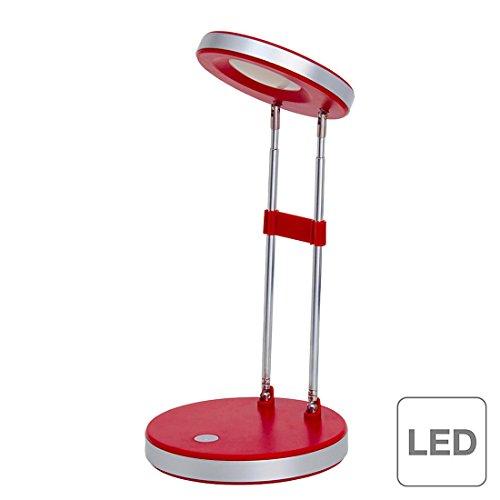 Brilliant AG g92926/01Venedig LED Schreibtischlampe Kunststoff/Metall 3,3W Integrated rot (Watt-rot-lampe)