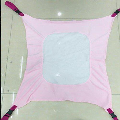 Etbotu Babywiege Wiege, atmungsaktiv, elastisch, für Kleinkinder, Kinder, hohe Qualität rose