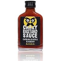 Crazy Bastard Sauce - Carolina Reaper & Blueberry - 100 ml