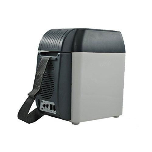 LT&NT Portable 7.5 l Réfrigérateur de Voiture de Ménage Petit Froid et Chaud Boîte de Voyage d'automobile en Plein air frigo 12V/220V