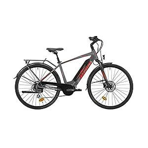 41S5En5X TL. SS300 Atala Bici elettrica Modello 2019 Cute S 28 8 velocità 418 Colore Grigio-Rosso Misura Unica 49