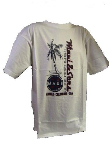 "Maui & Sons ""Sprint"" T-Shirt bianca - - bianco, Bianco, M/L - 117cm"