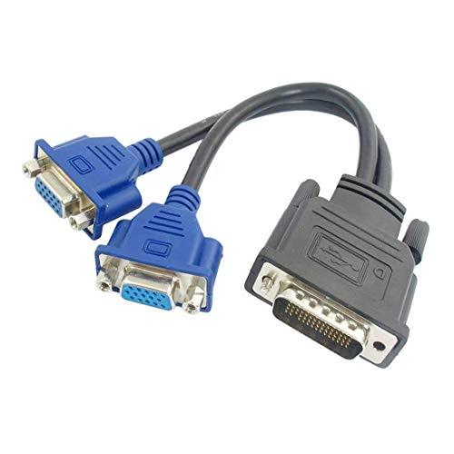 YIWENTEC DMS 59 Pin Stecker auf 2 Female Dual Monitor Verlängerungskabel Adapter für LHF Grafikkarte DMS to 2 vga -