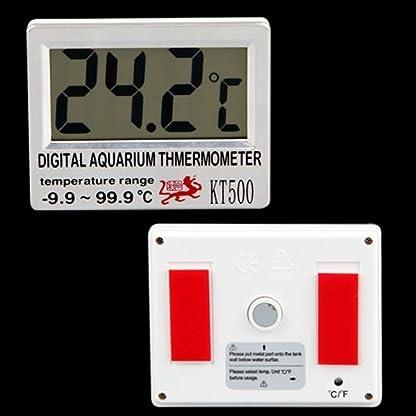 Digital LCD Aquarium Fish Tank Vivarium Meter Thermometer 2