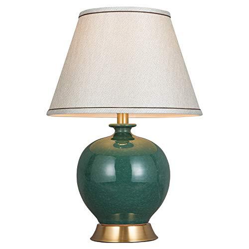 Lámpara de mesa de cerámica Decoración europea lámpara de mesa ...