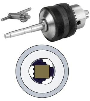 Preisvergleich Produktbild Bohrfutter mit MK2 Aufnahme für Einsatz auf der Drechselbankmax. 20 mm