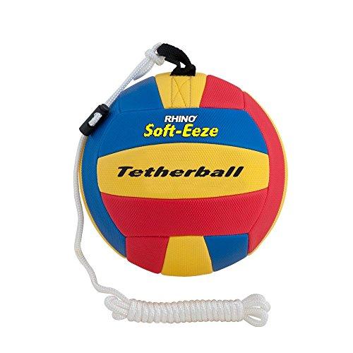 Champion Sports Rhino Soft-eeze Tetherball, RSTB9, Mehrfarbig, 23 cm -