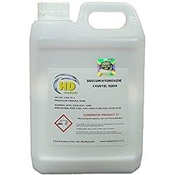 Soda caustica, 99% di purezza, grado 'perla', idrossido di sodio per sturare tubature e per saponificazione - 1,5kg