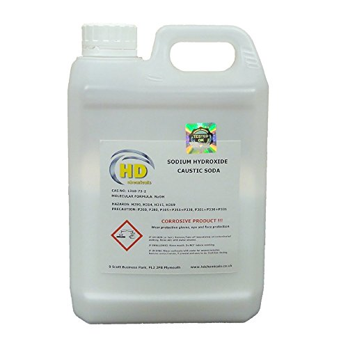 1.5kg CAUSTIC SODA 99% Grade 'Pearl' Drain Cleaner,Soap Making Sodium Hydroxide