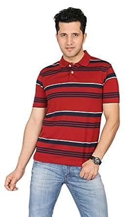 AFL Men's Polo Neck Red Men's T-Shirt